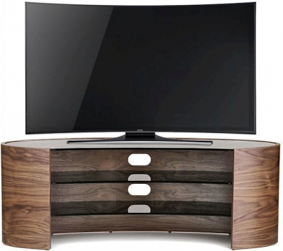 Tom Schneider Elliptical 1250 Walnut TV Stand