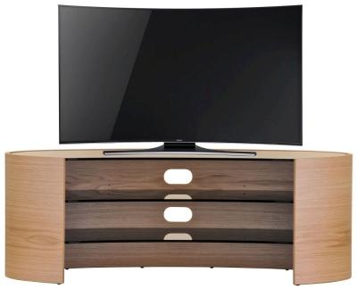 Tom Schneider Elliptical 1400 Oak Large TV Stand