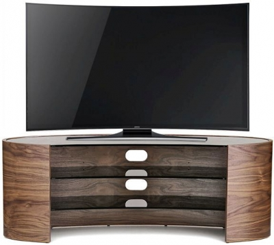 Tom Schneider Elliptical 1400 Walnut TV Stand