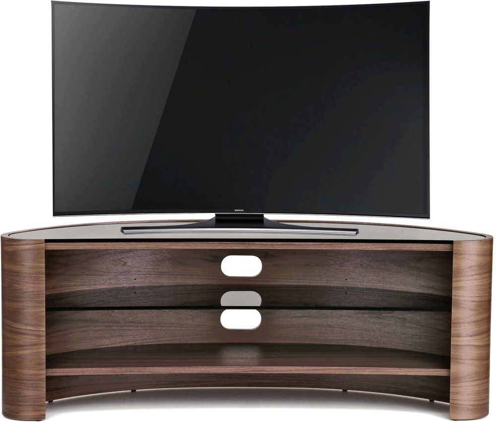 Tom Schneider Glide 1350 Walnut Large TV Stand
