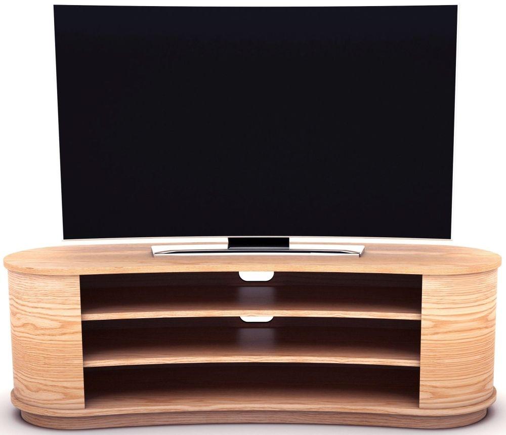 Tom Schneider Radius 1550 Oak TV Stand
