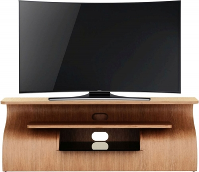 Tom Schneider Surge 1350 Oak TV Stand