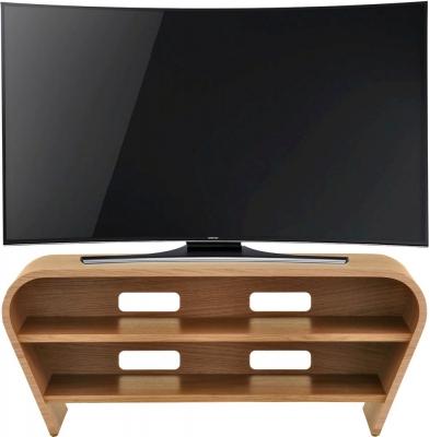 Tom Schneider Taper 1050 Oak Small TV Stand