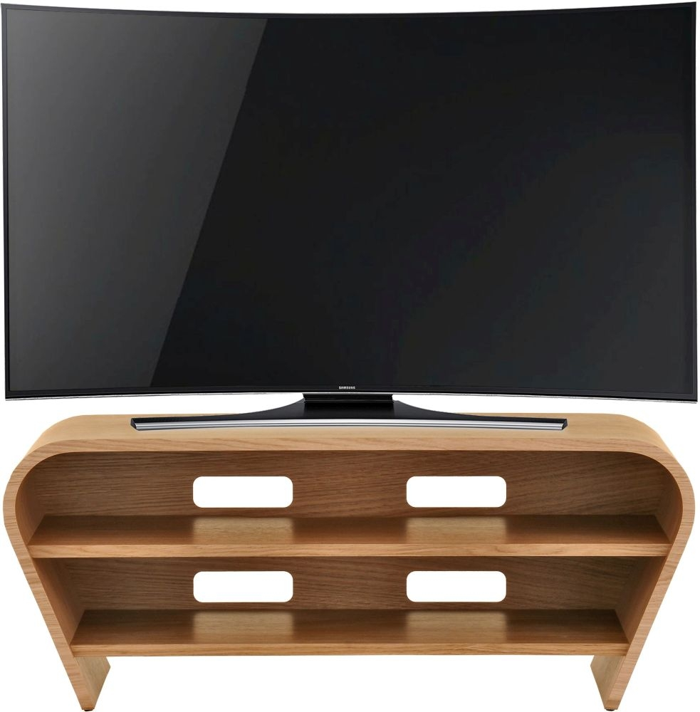 Tom Schneider Taper 1050 Oak Small TV Stand