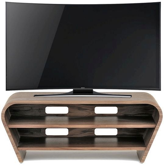 Tom Schneider Taper 1050 Walnut Small TV Stand