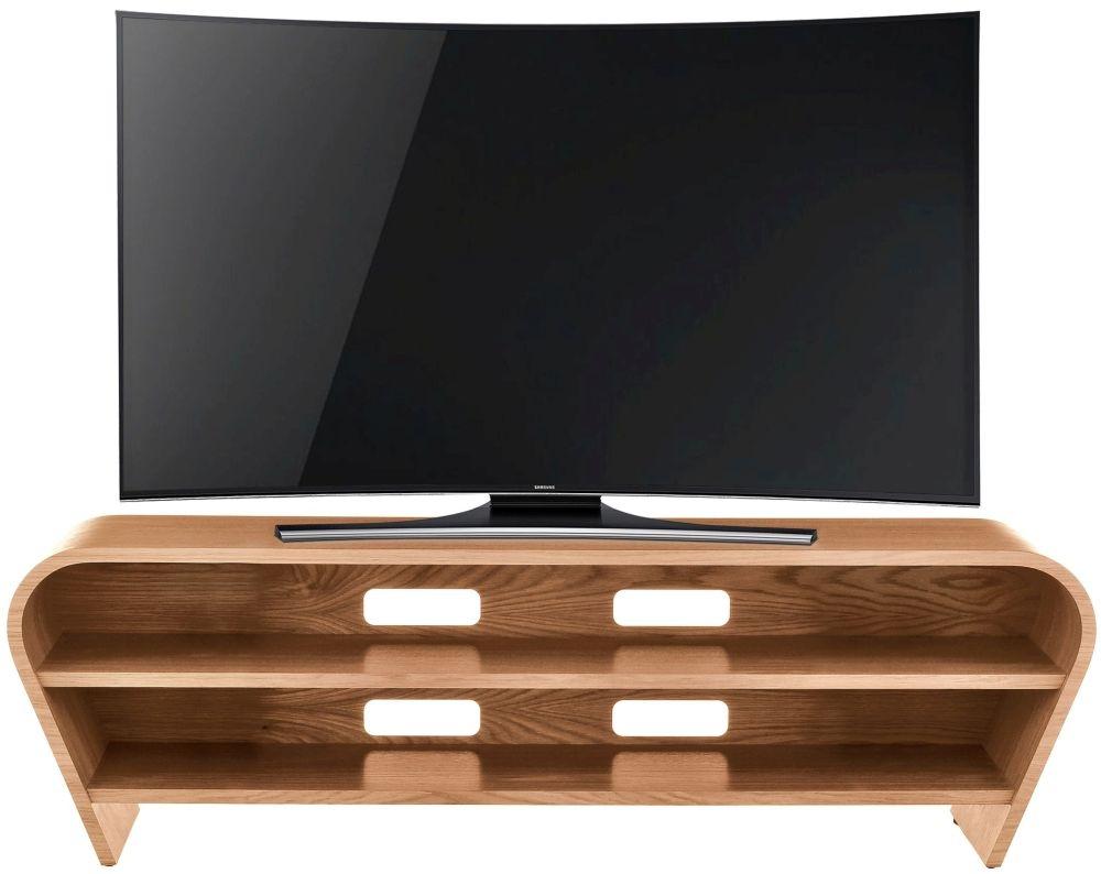 Tom Schneider Taper 1250 Oak TV Stand