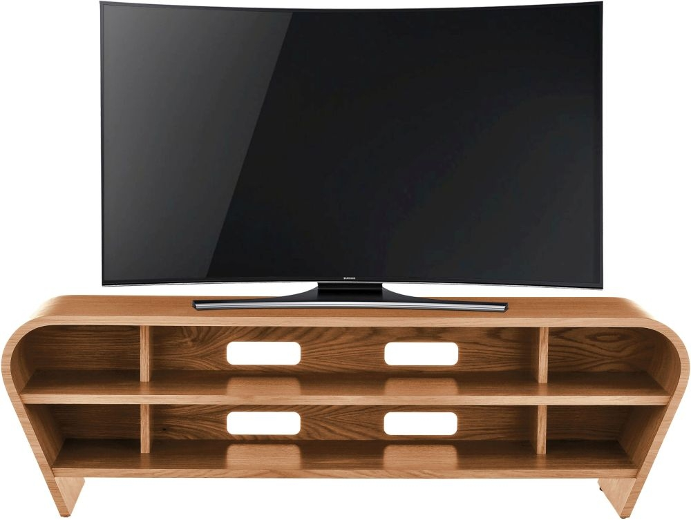 Tom Schneider Taper 1400 Oak Large TV Stand