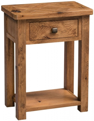 Homestyle GB Aztec Oak Telephone Table