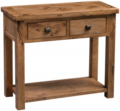 Homestyle GB Aztec Oak Hall Table