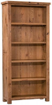 Homestyle GB Aztec Oak Large Bookcase