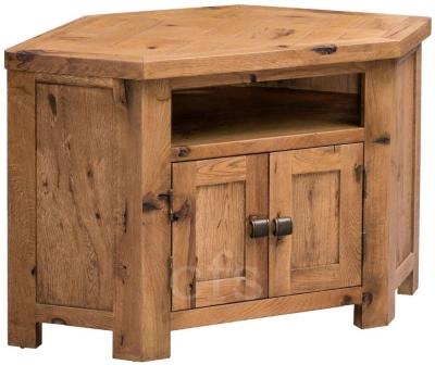 Homestyle GB Aztec Oak TV Cabinet - Corner