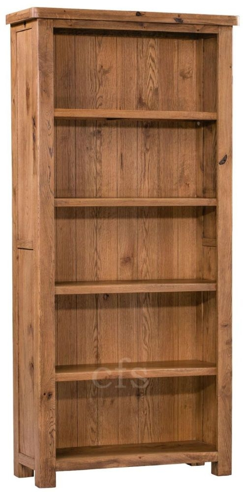 Homestyle GB Aztec Oak Bookcase - Large