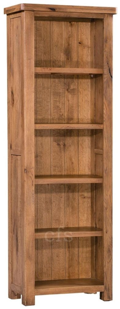Homestyle GB Aztec Oak Slim Bookcase