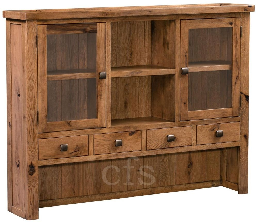 Buy Homestyle Gb Aztec Oak Dresser Top Online Cfs Uk