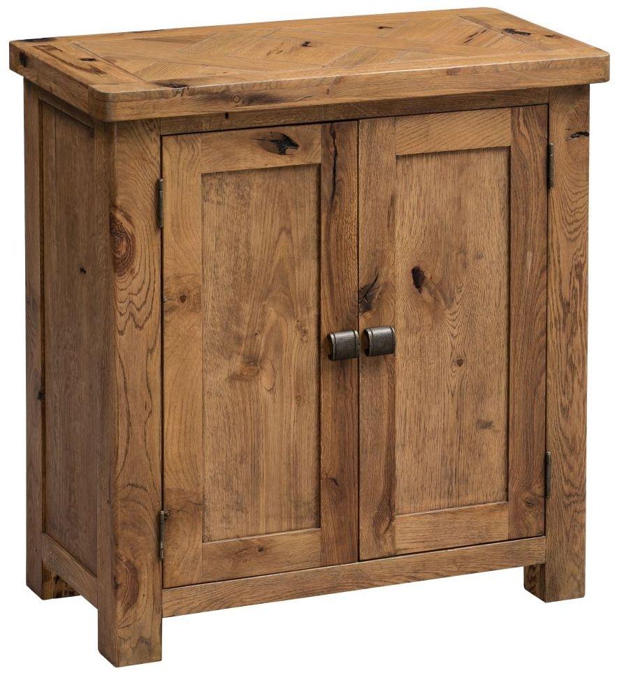 Homestyle GB Aztec Oak Occasional Cupboard - 2 Door