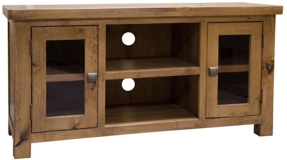 Homestyle GB Aztec Oak TV Cabinet - 2 Door