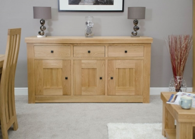Homestyle GB Bordeaux Oak Medium Sideboard