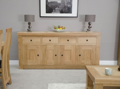 Homestyle GB Bordeaux Oak Large Sideboard