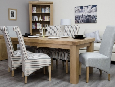 Homestyle GB Bordeaux Oak Dining Table - Large