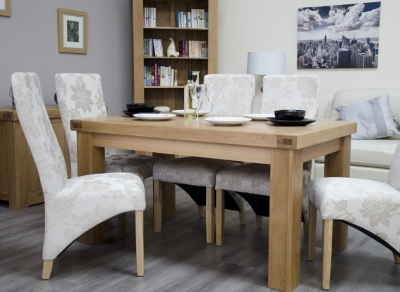 Homestyle GB Bordeaux Oak Dining Table - Small