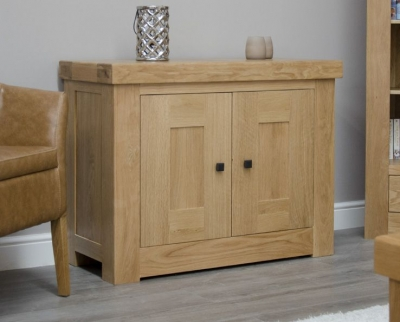 Homestyle GB Bordeaux Oak Occasional Cupboard