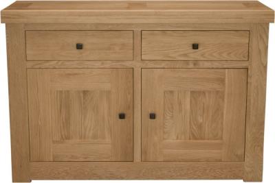 Homestyle GB Bordeaux Oak Sideboard - 2 Door 2 Drawer