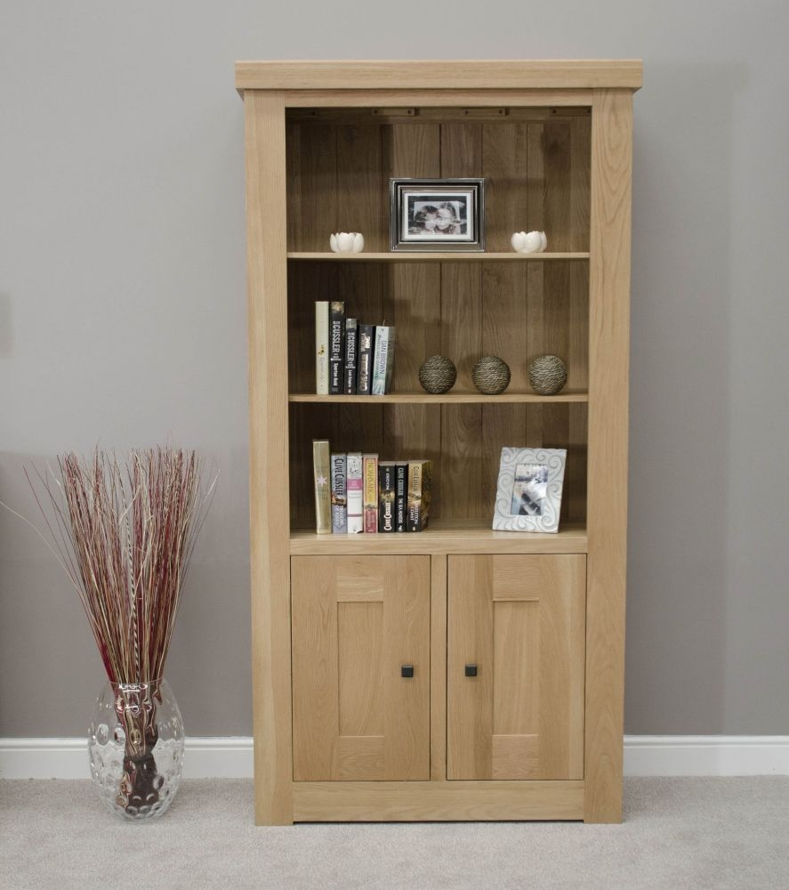 Homestyle GB Bordeaux Oak Small Bookcase