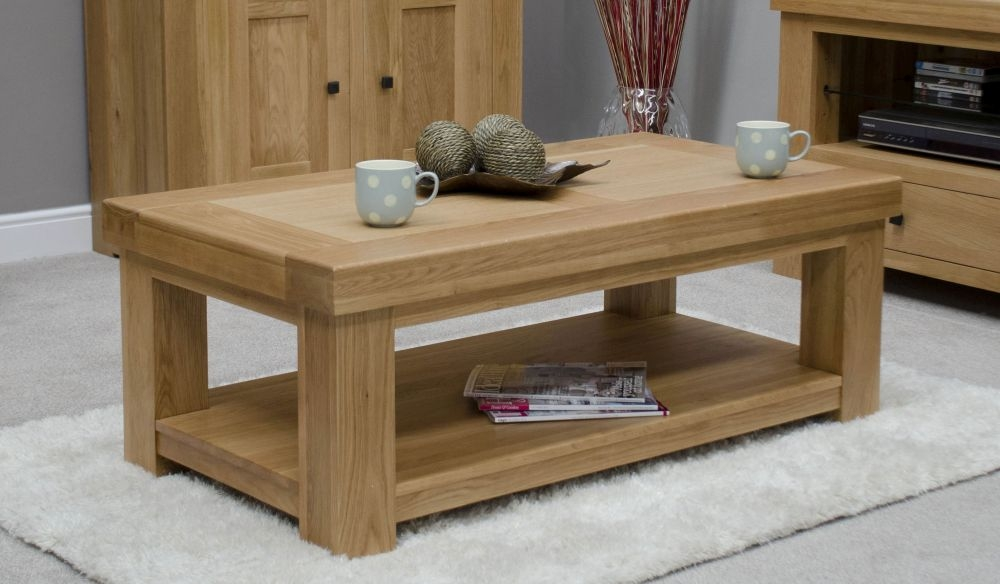 Homestyle GB Bordeaux Oak Coffee Table