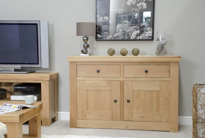 Homestyle GB Bordeaux Oak Small Sideboard