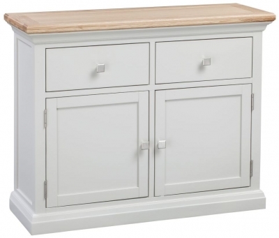 Homestyle GB Cotswold Oak and Painted Small Sideboard