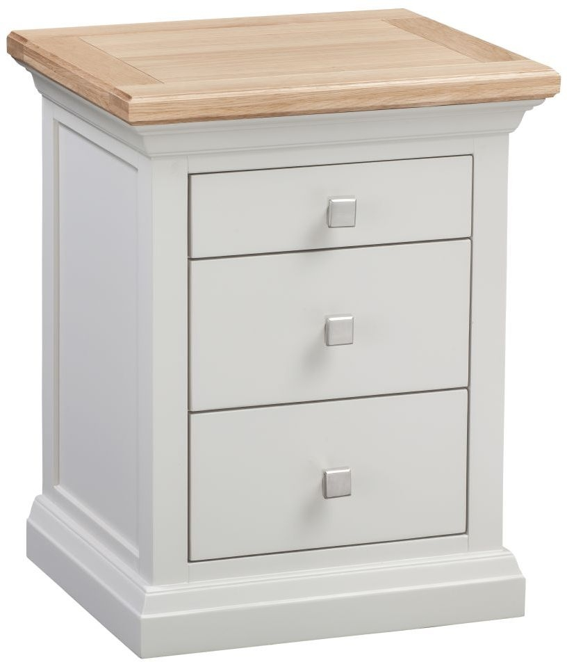 Homestyle GB Cotswold Painted Bedside Cabinet