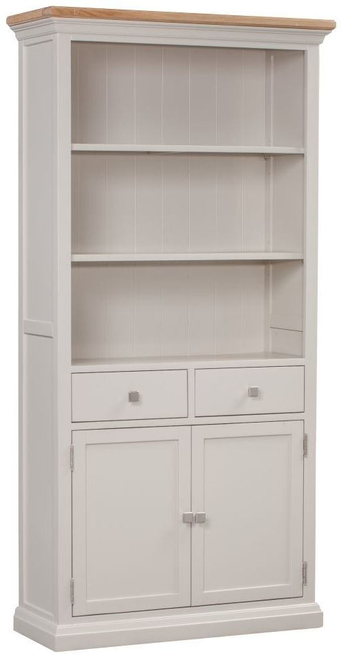 Homestyle GB Cotswold Painted Large Bookcase