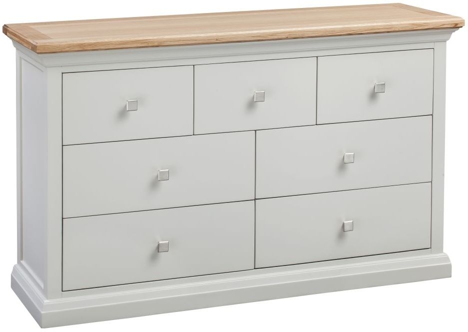 Homestyle GB Cotswold Painted 4+3 Drawer Chest