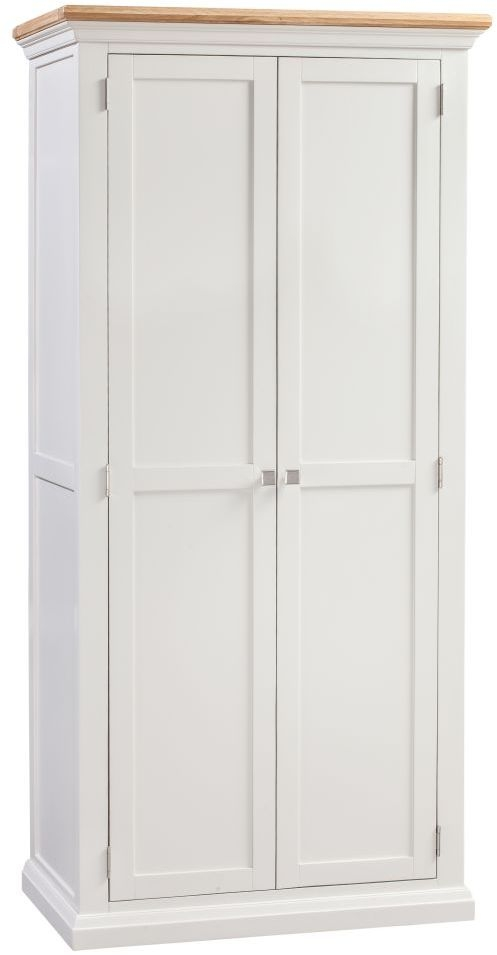 Homestyle GB Cotswold Painted 2 Door Wardrobe
