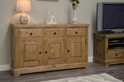 Homestyle GB Deluxe Oak Medium Sideboard