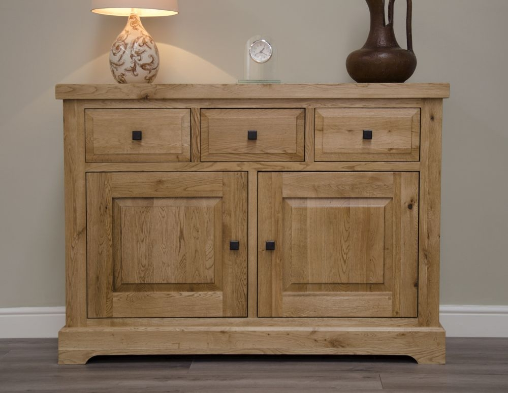Homestyle GB Deluxe Oak Oak Small Sideboard