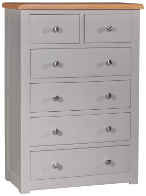 Homestyle GB Diamond Painted 4+2 Drawer Chest