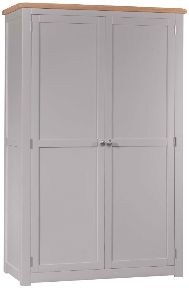 Homestyle GB Diamond Painted 2 Door Wardrobe