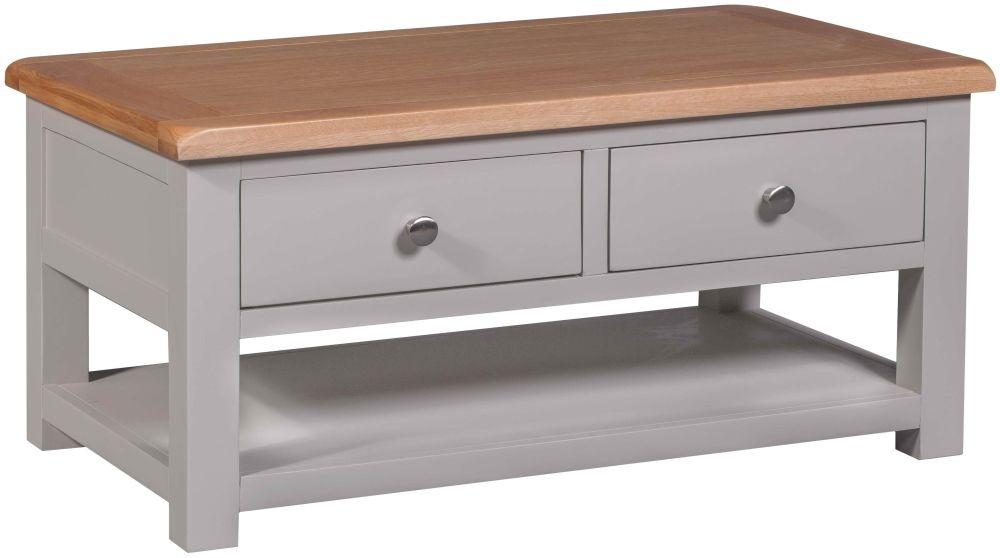 Homestyle GB Diamond Painted Storage Coffee Table