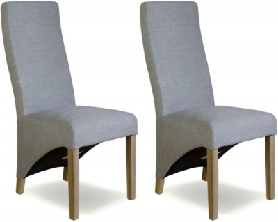 duck egg blue fabric dining chair pair homestyle gb furniture