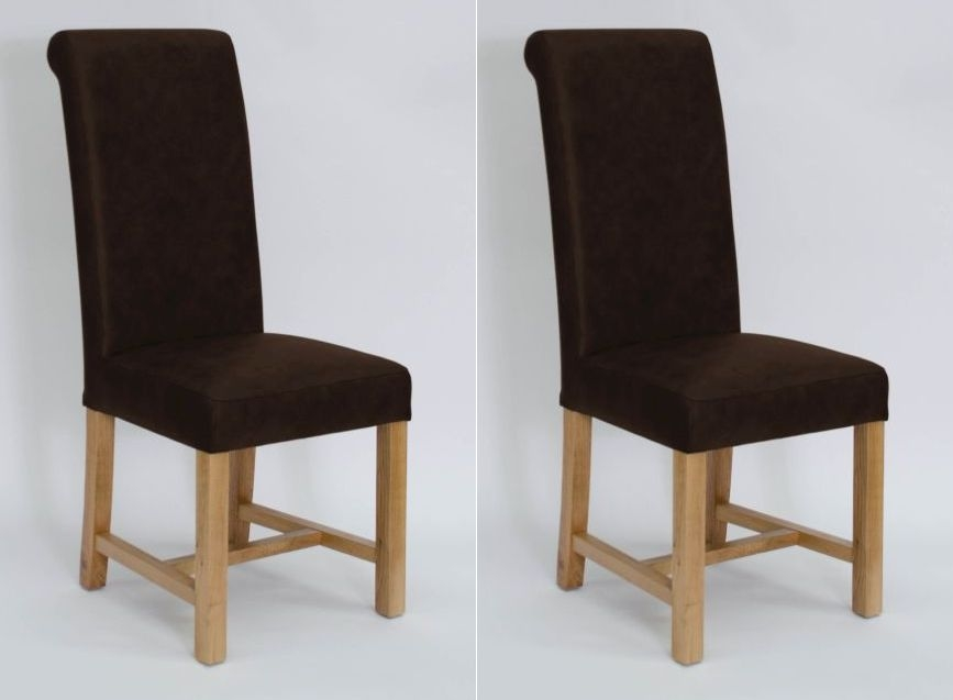 Homestyle GB Henley Dining Chair (Pair) - Expreso Leather