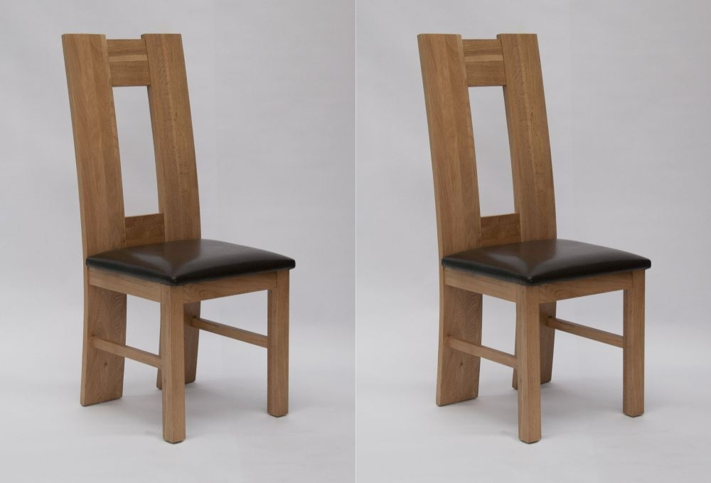 Homestyle GB High Back Dining Chair (Pair)