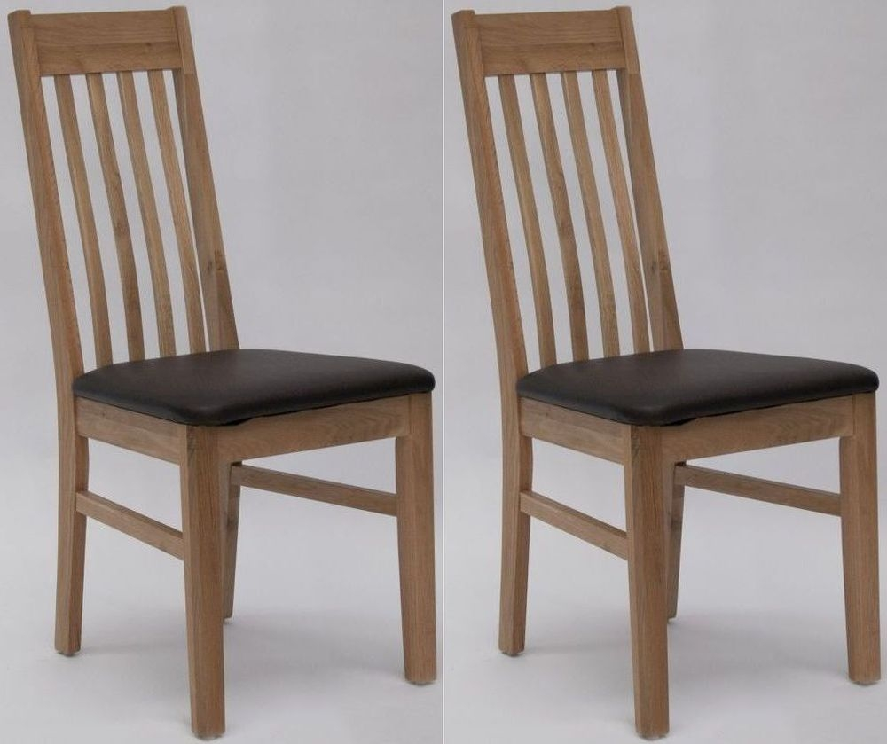 Buy Homestyle GB Sophia Faux Leather Dining Chair Pair