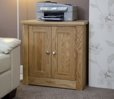 Clearance Homestyle GB Torino Oak Printer Cabinet - G69