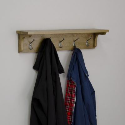 Homestyle GB Lyon Oak Coat Rack Holder