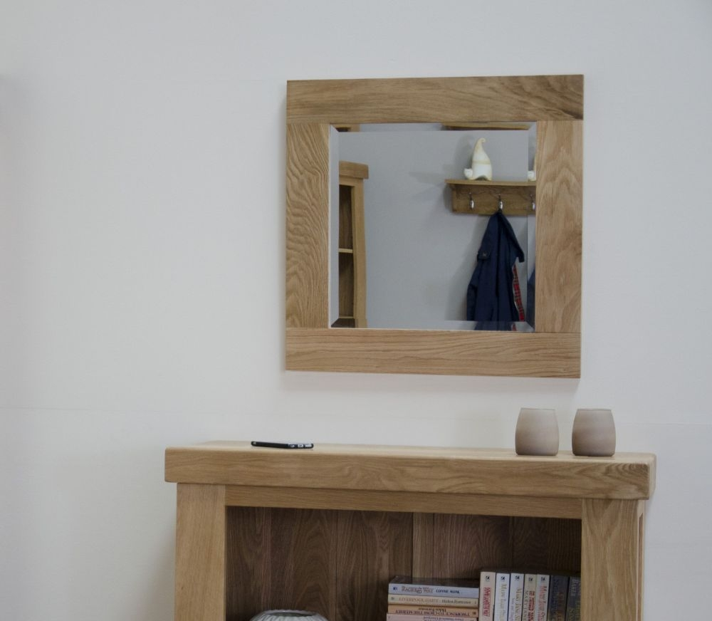 Homestyle GB Lyon Oak Square Mirror