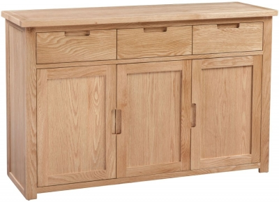 Homestyle GB Moderna Oak Large Sideboard