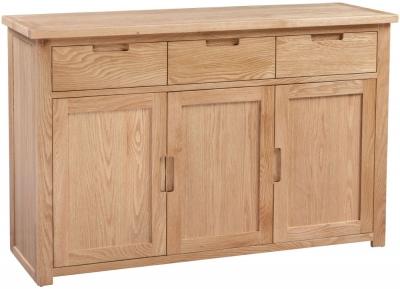 Homestyle GB Moderna Oak Large Sideboard