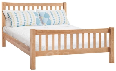 Homestyle GB Moderna Oak Bed