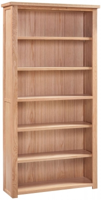 Homestyle GB Moderna Oak Large Bookcase
